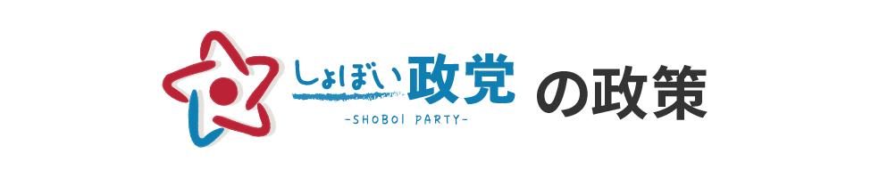 しょぼい政党の政策